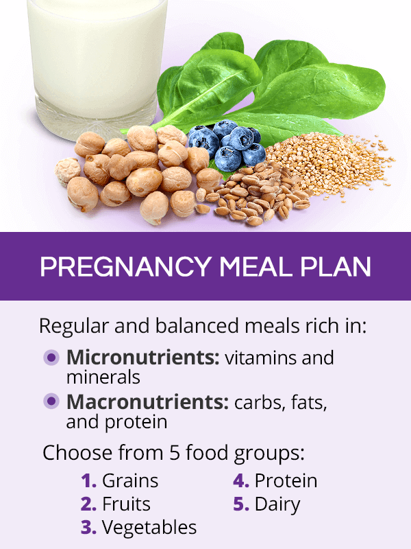Pregnancy meal plan