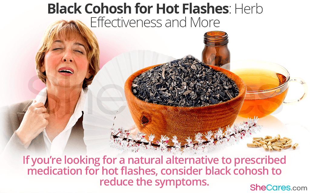Black Cohosh for Hot Flashes: Herb Effectiveness and More