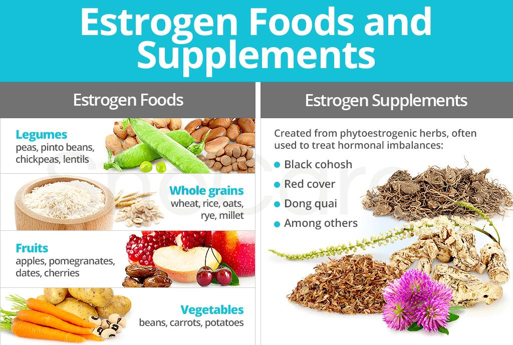Estrogen Foods and Supplements