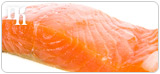 Salmon decreases the amount of SHBG in the body