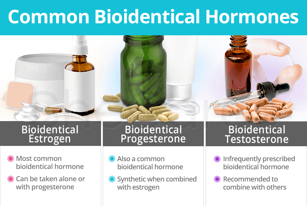 Common Bioidentical Hormones