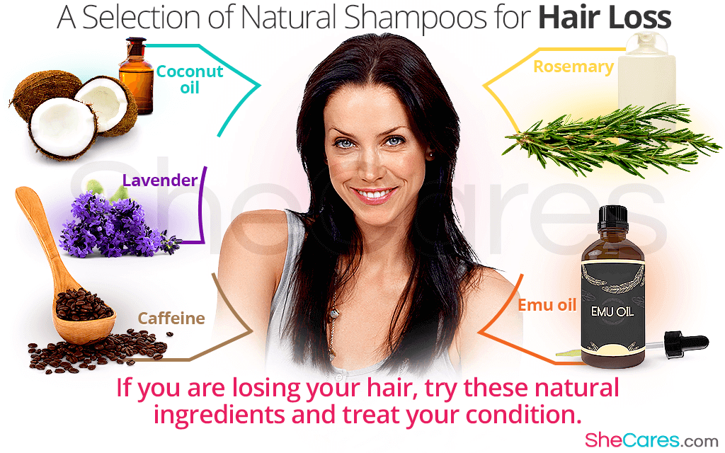 If you are losing your hair, try these natural ingredients and treat your condition.