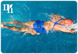 Swimming will help you to balance your hormone levels