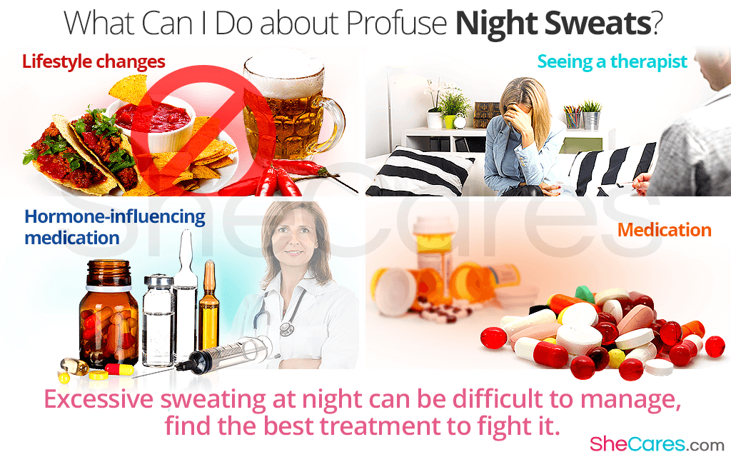 What Can I Do about Profuse Night Sweats?