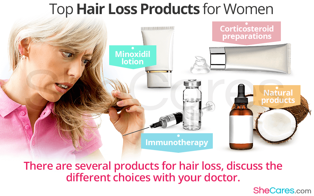 Top Hair Loss Products for Women