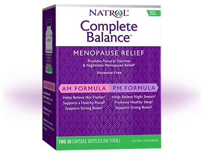 Natrol Complete Balance for Menopause AMPM Review: Pros & Cons