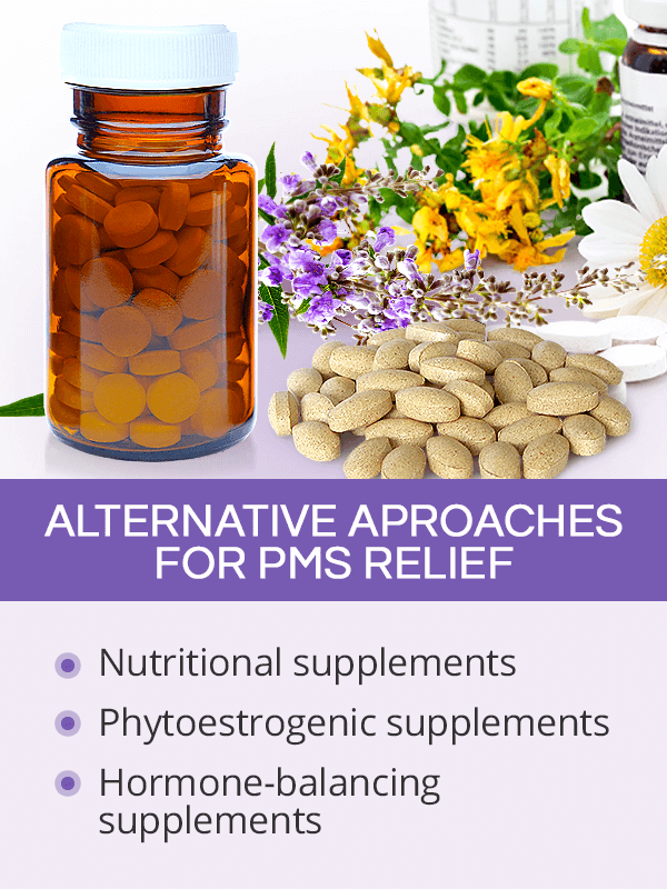 Alternative aproaches for PMS relief