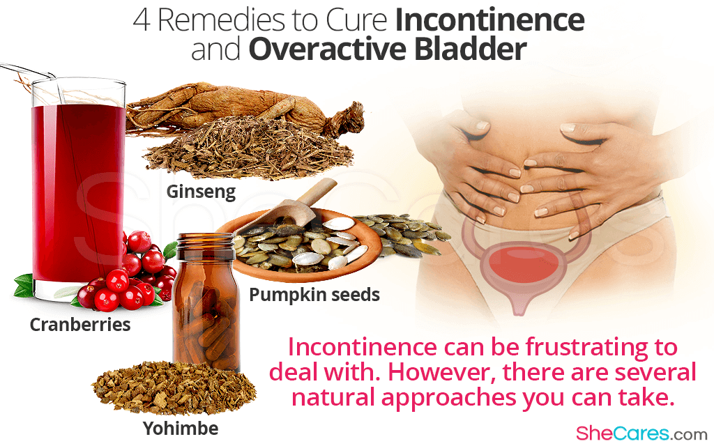 Incontinence can be frustrating to deal with. However, there are several natural approaches you can take.