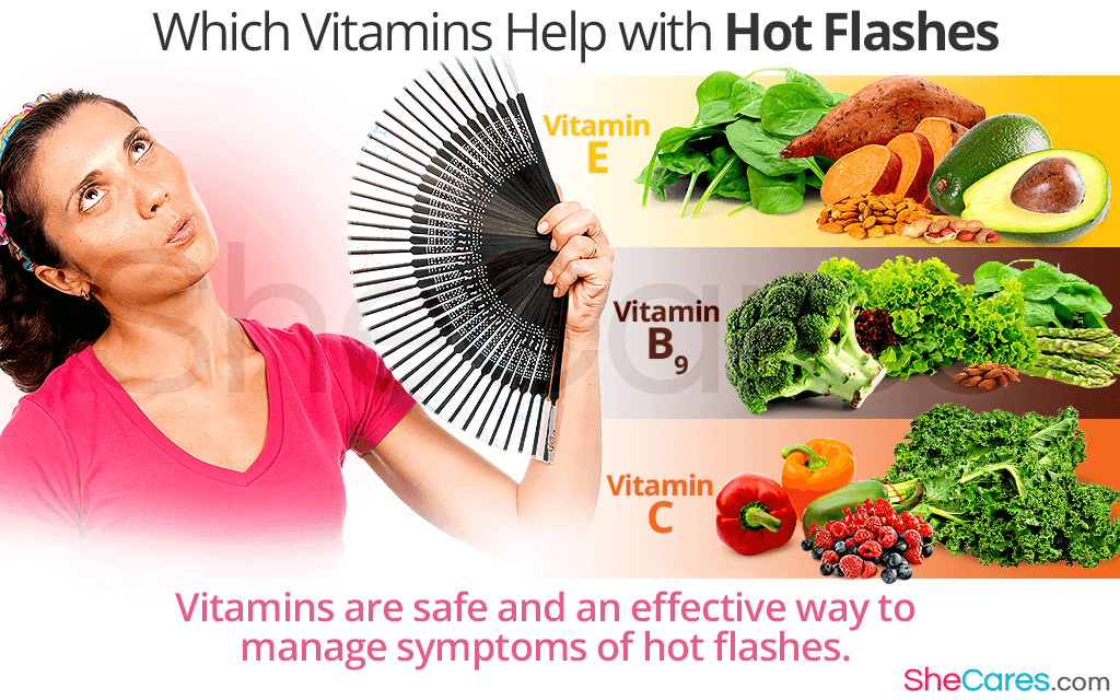 Which Vitamins Help with Hot Flashes