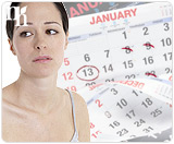 Irregular periods are one of the symptoms of lack of progesterone.
