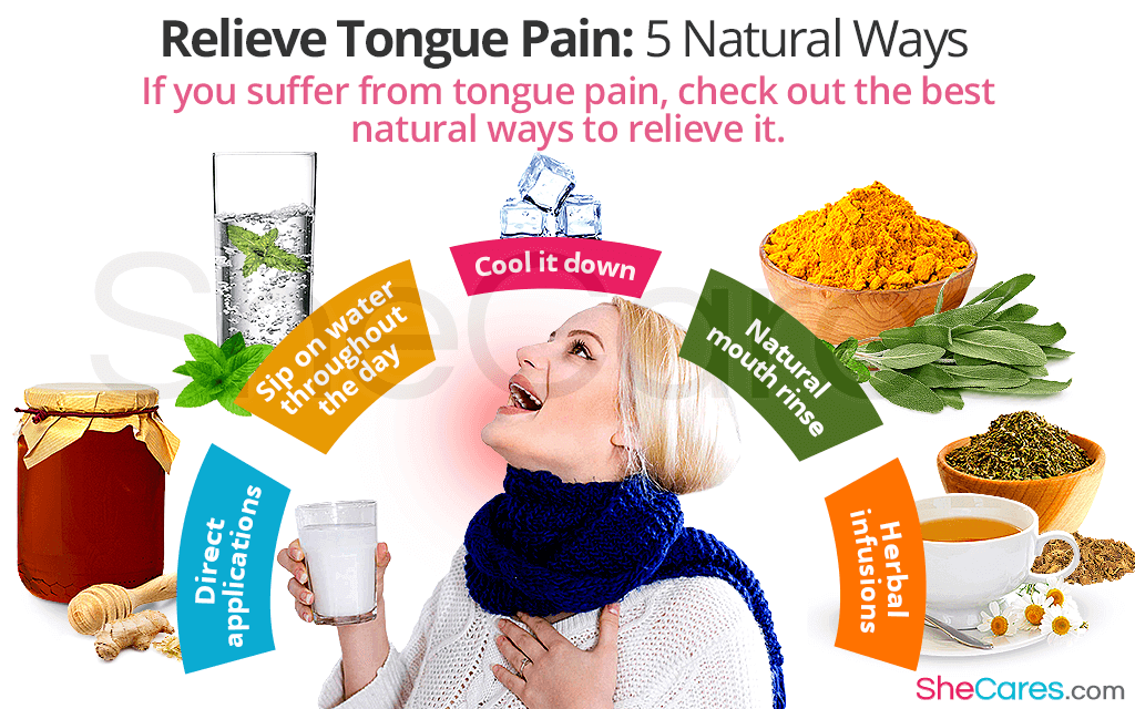 Relieve Tongue Pain: 5 Natural Ways