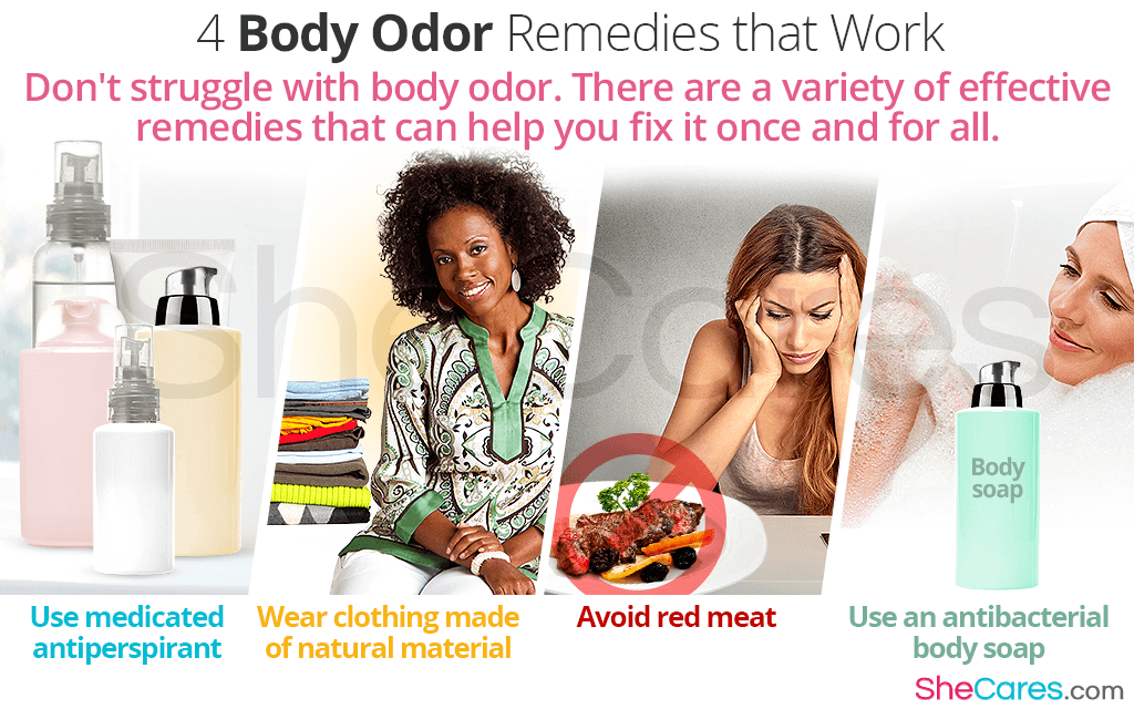 4 Body Odor Remedies that Work