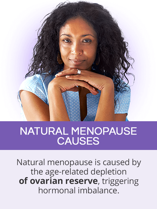 Causes of natural menopause