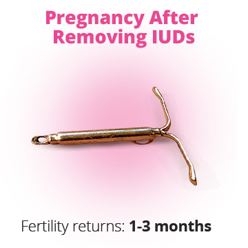 Getting pregnant after iud removal
