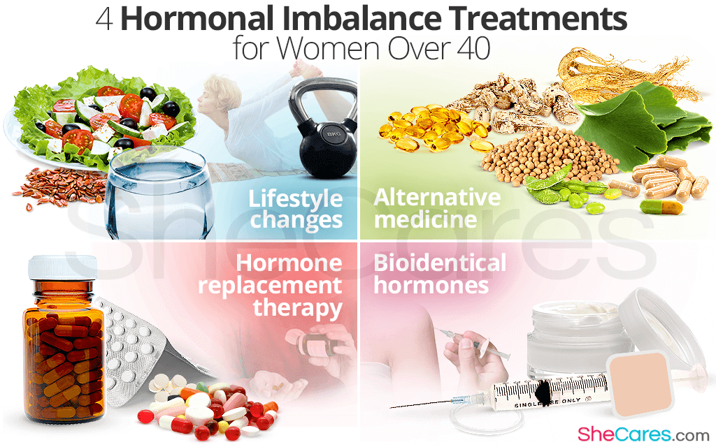 4 Hormonal Imbalance Treatments for Women Over 40