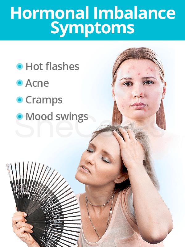 Hormonal imbalance symptoms