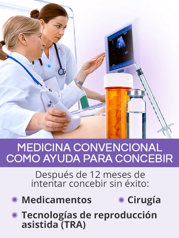 Medicina convencional como ayudapara concebir