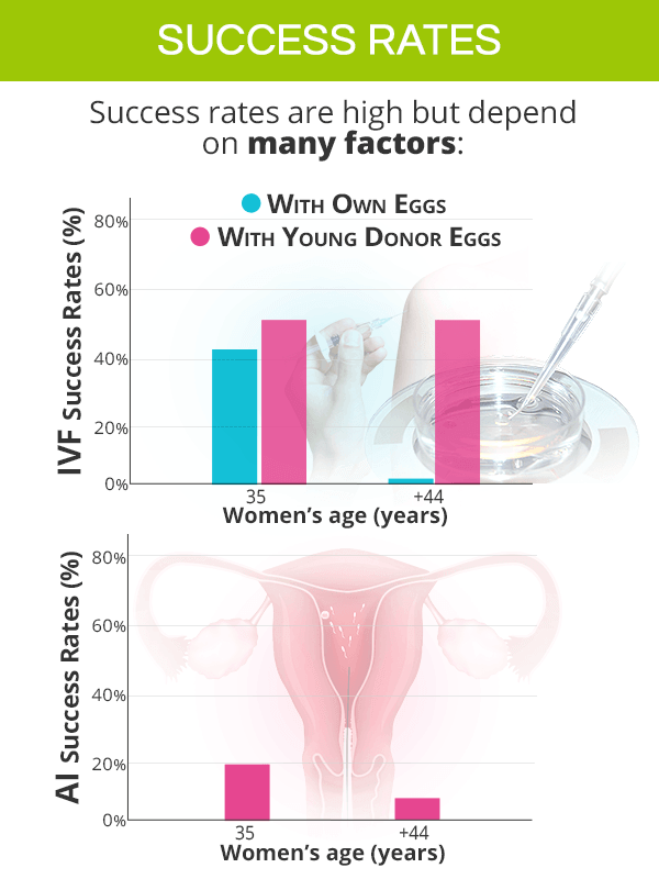 Assisted reproductive technology success rates