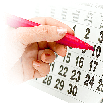 ovulation period calendar