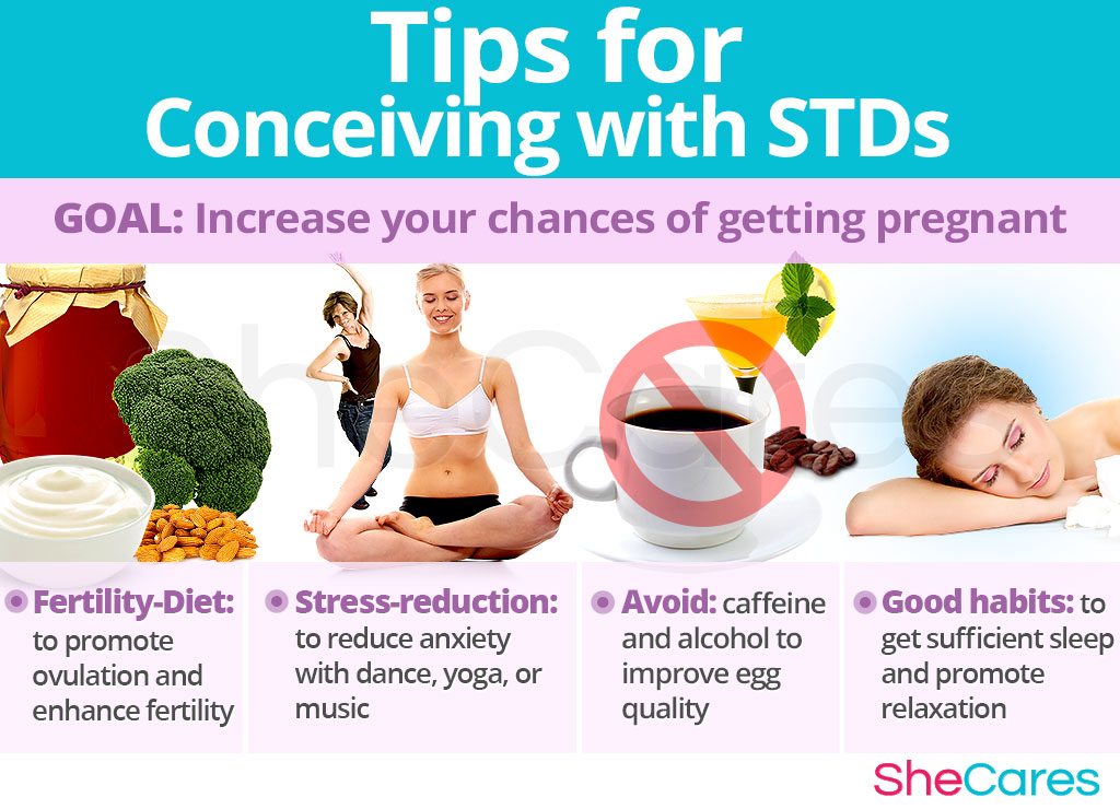 Tips for Conceiving with STDs