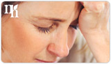 The common side effects of low progesterone are severe migraines.