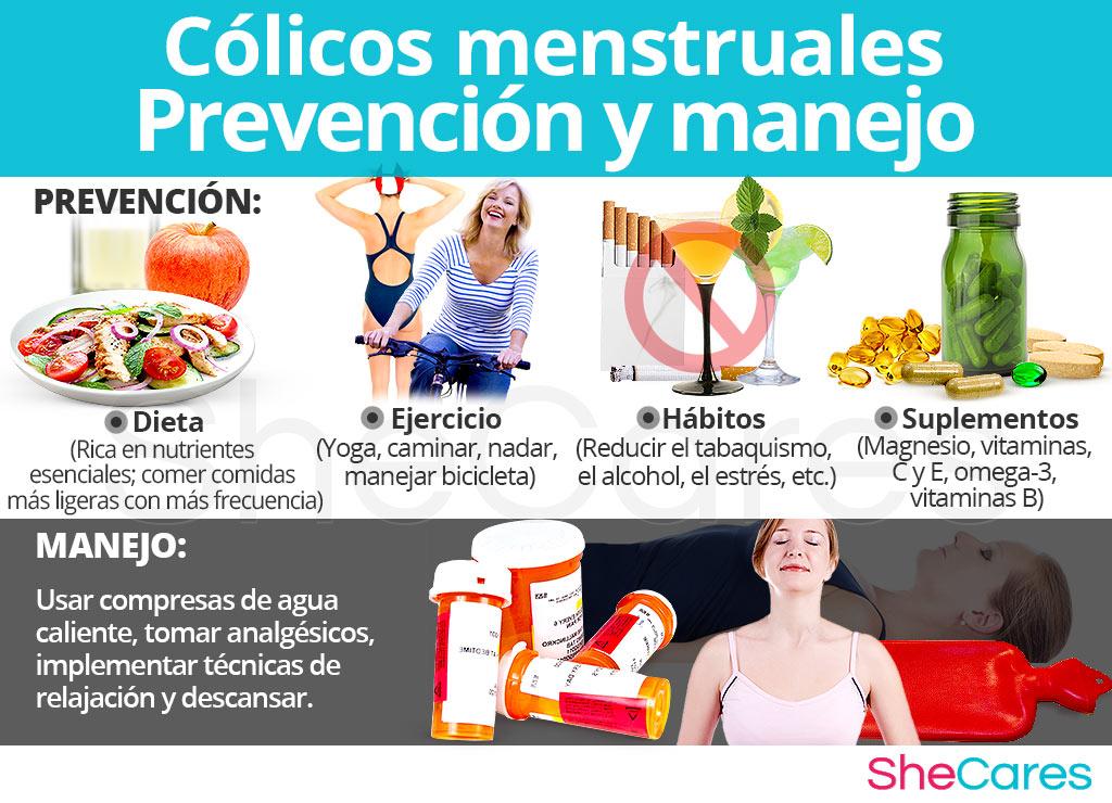 Cólicos menstruales prevención y manejo