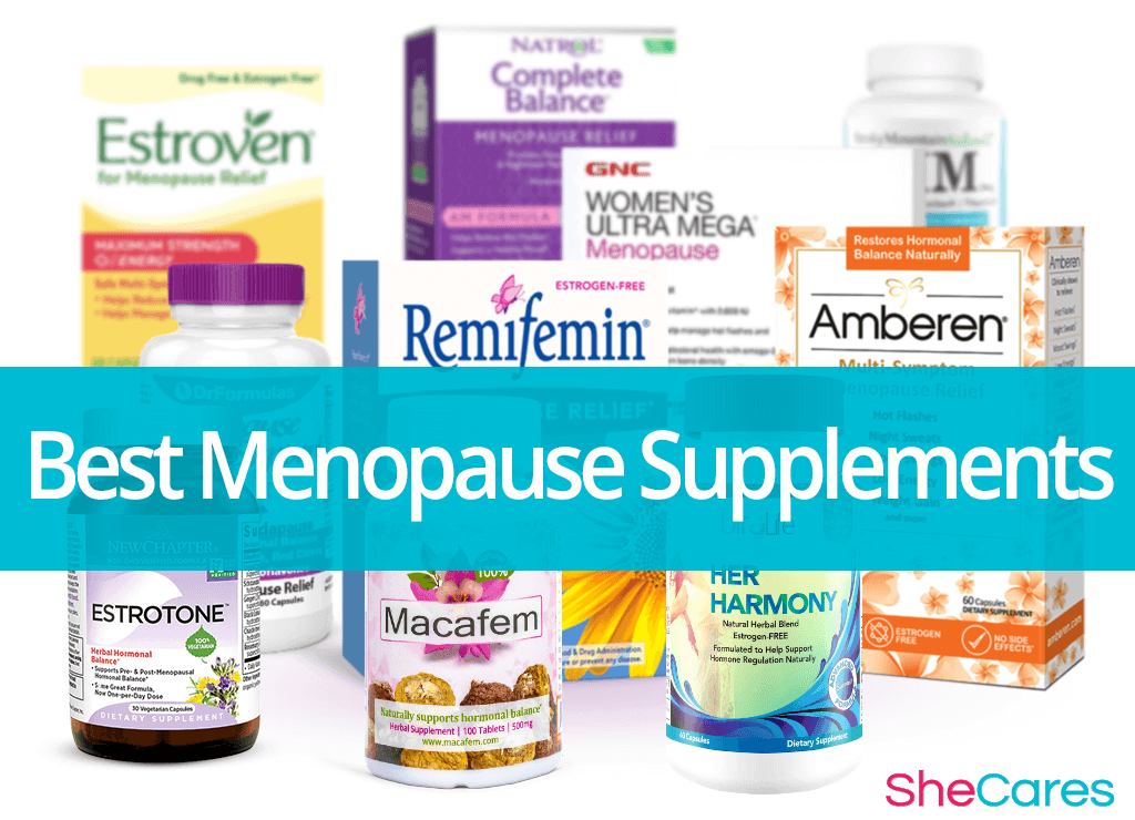 Best Menopause Supplements Reviewed