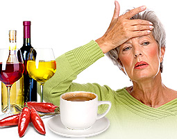 What causes Hot Flashes after age 60