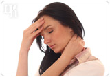 Hormonal imbalance can have unpleasant physical and emotional symptoms, like headaches.