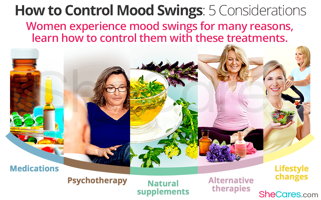 How to Control Mood Swings: 5 Considerations