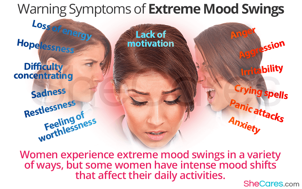 Extreme Mood Swings: Important Things to Know | SheCares