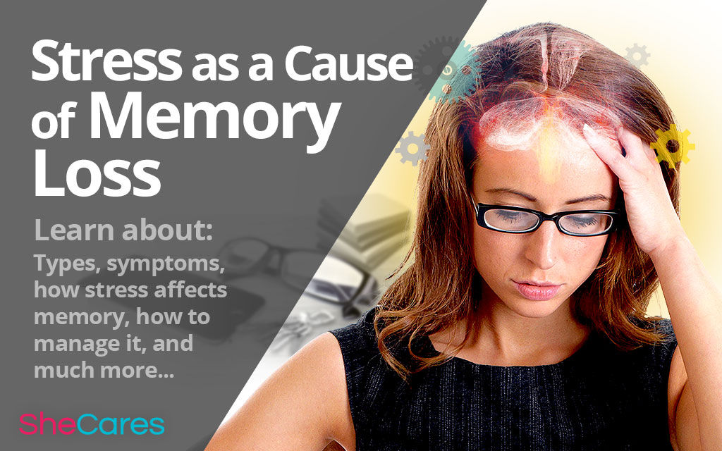 Stress as a Cause of Memory Loss | SheCares