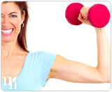 Testosterone helps to boost your muscle tone.