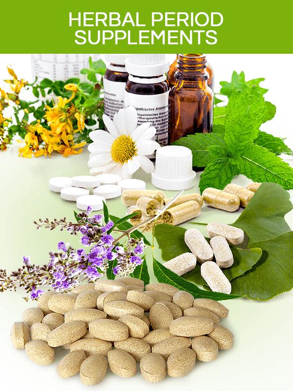 Herbal period supplements