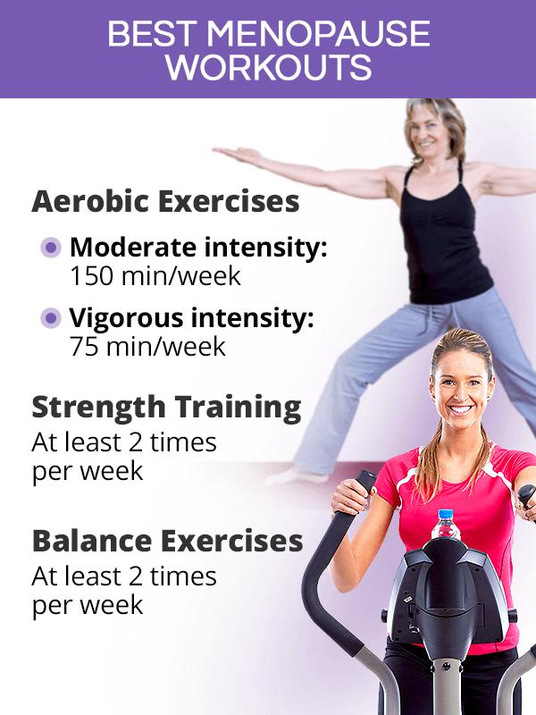 Best menopause workouts