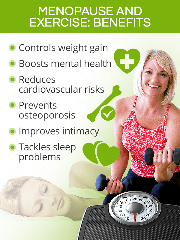 Benefits of menopause exercise