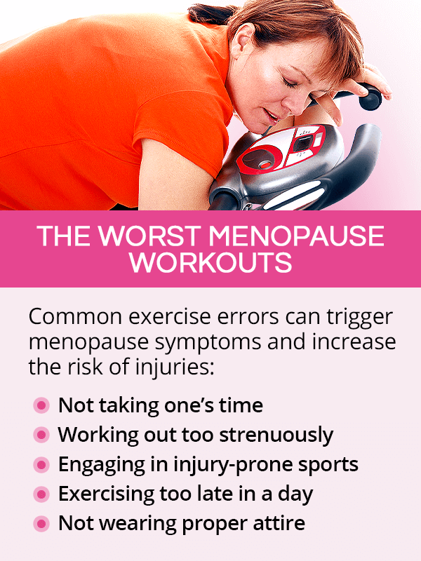 The worst menopause workouts