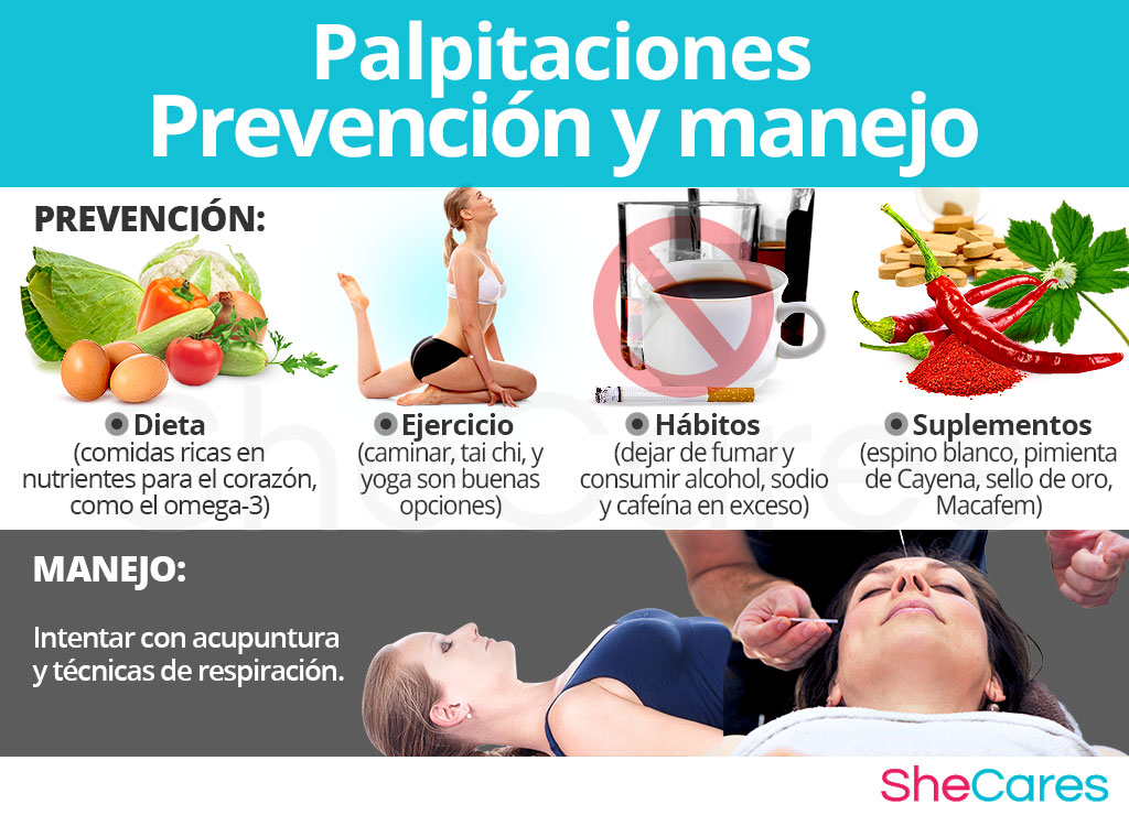 Palpitaciones - Prevención y manejo