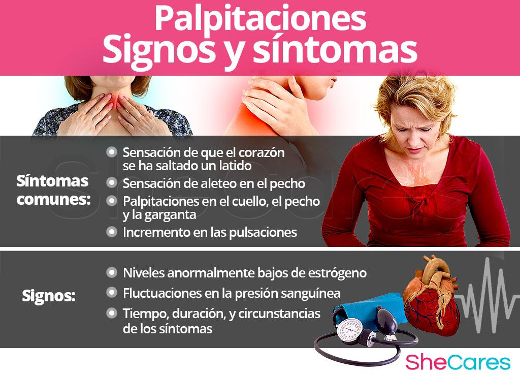 Palpitaciones - Signos y síntomas
