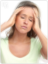 Headaches are a common symptom of estrogen fluctuations