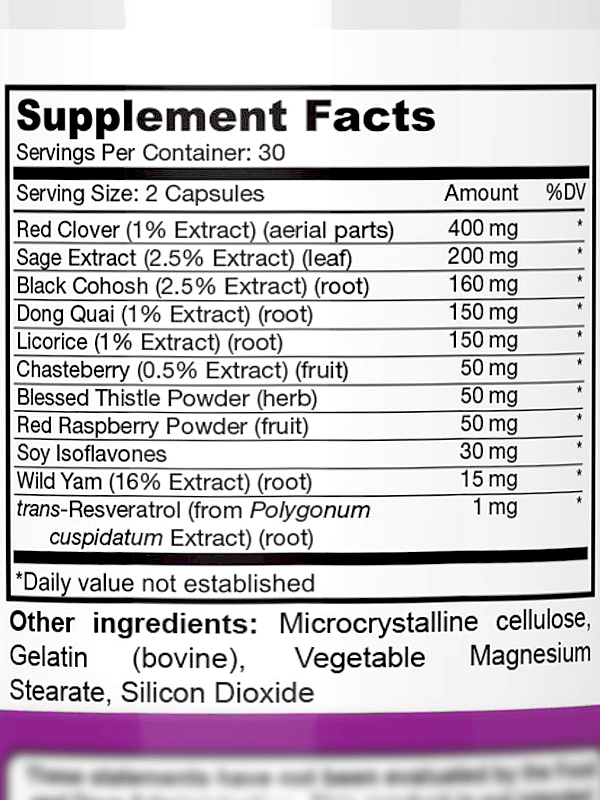DrFormulas Ingredients