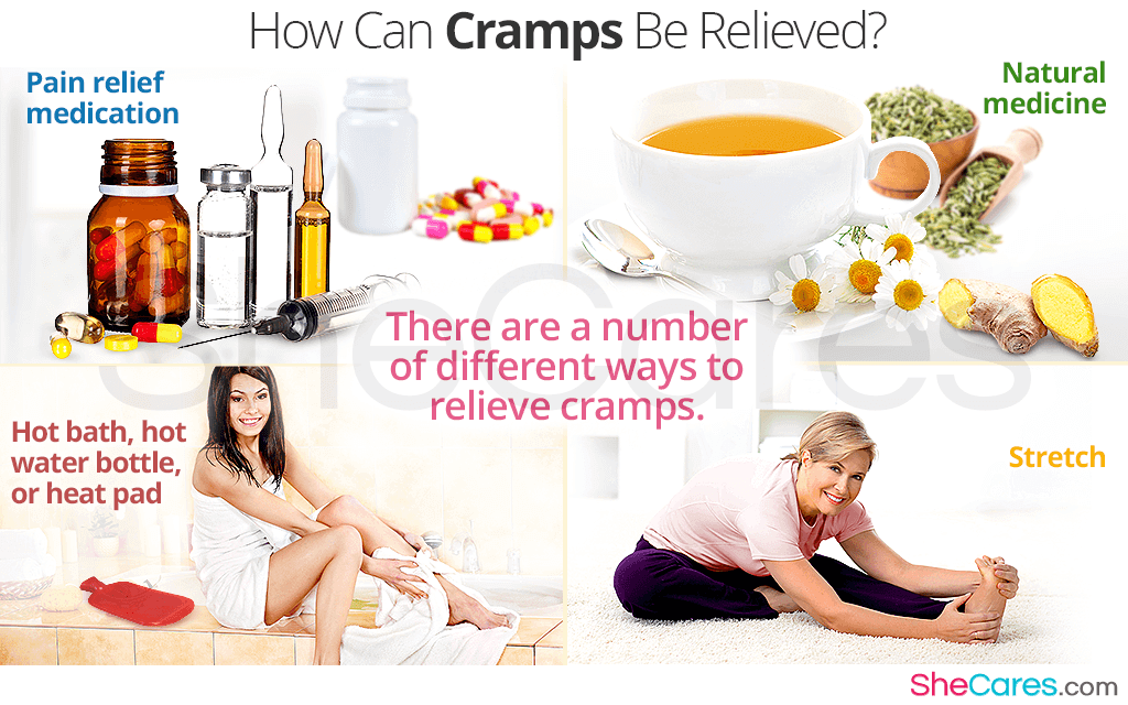 How Can Cramps Be Relieved?