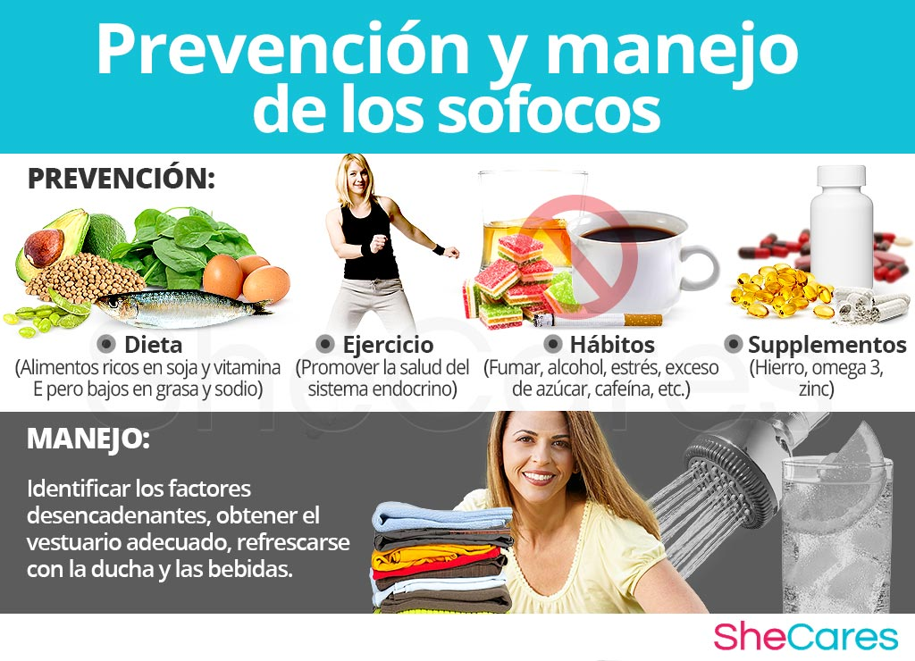 Prevencion y manejo los sofocos