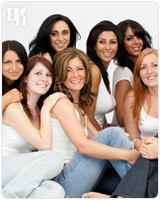 Women can have low levels of testosterone hormones and still be healthy.