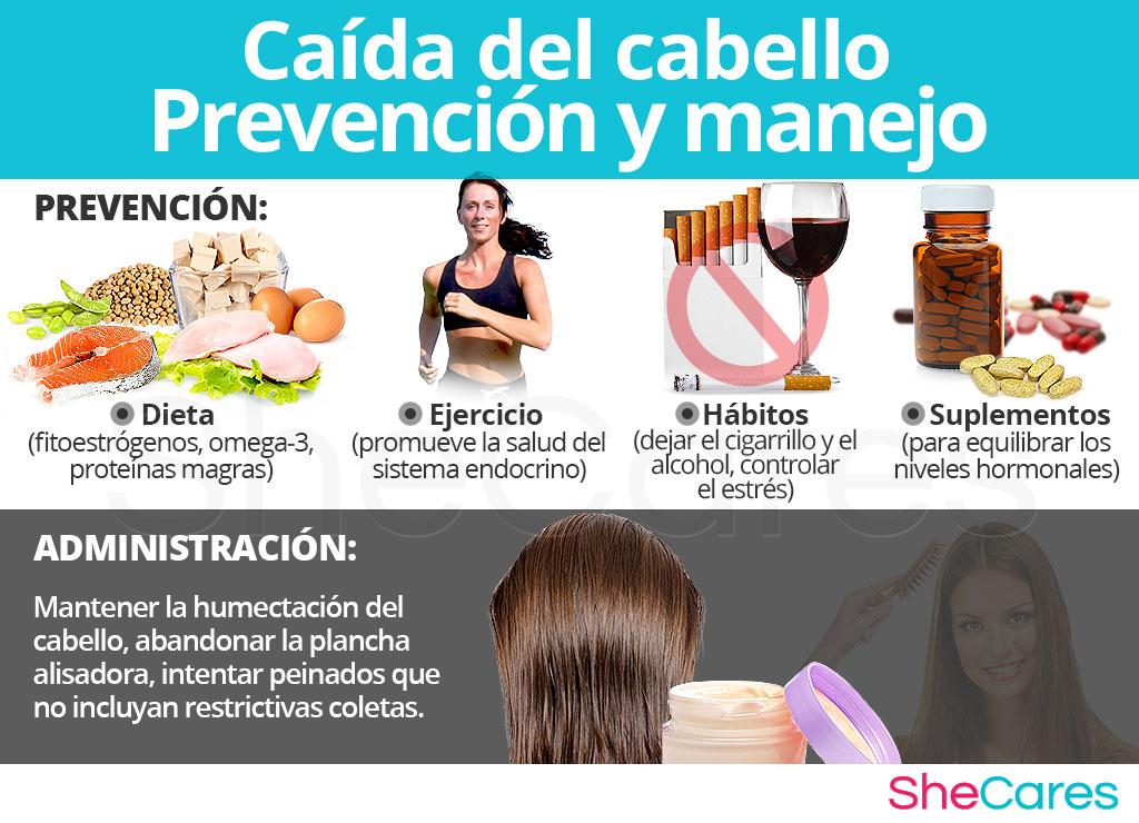 Caída del cabello - Prevención y manejo