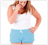 Low progesterone levels can cause weight gain