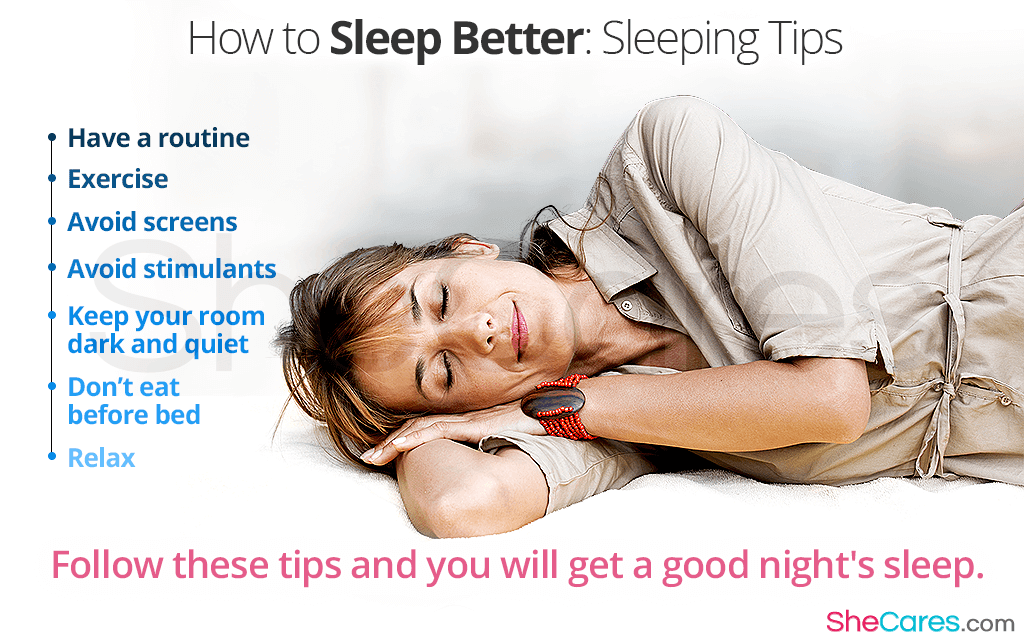 How to Sleep Better: Sleeping Tips