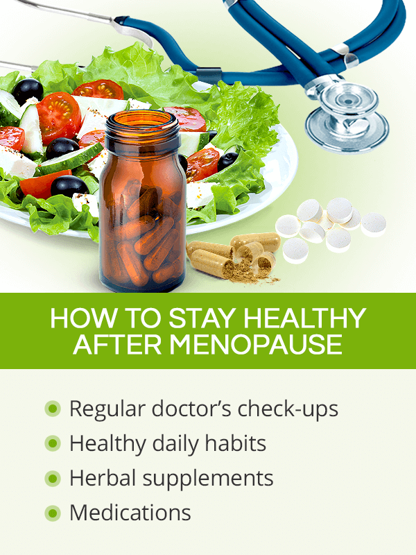 Staying healthy after menopause