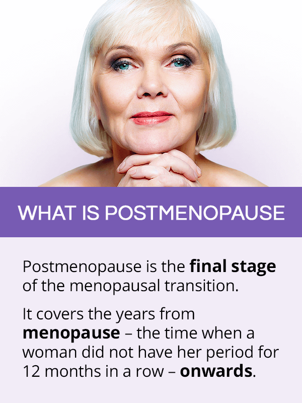 What is postmenopause