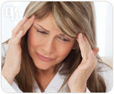 Menopause symptoms are the result of hormonal imbalance